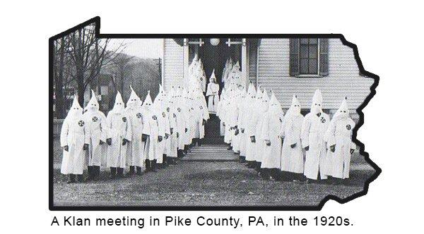 Klan Meeting in PA [1920s]