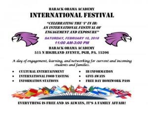 international festival 2018