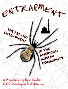 FBI Entrapment Seminar Poster
