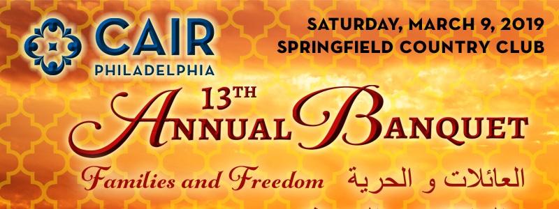 CAIR-Philadelphia 13th Annual Banquet