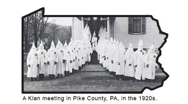 Klan Meeting in PA [1920s]
