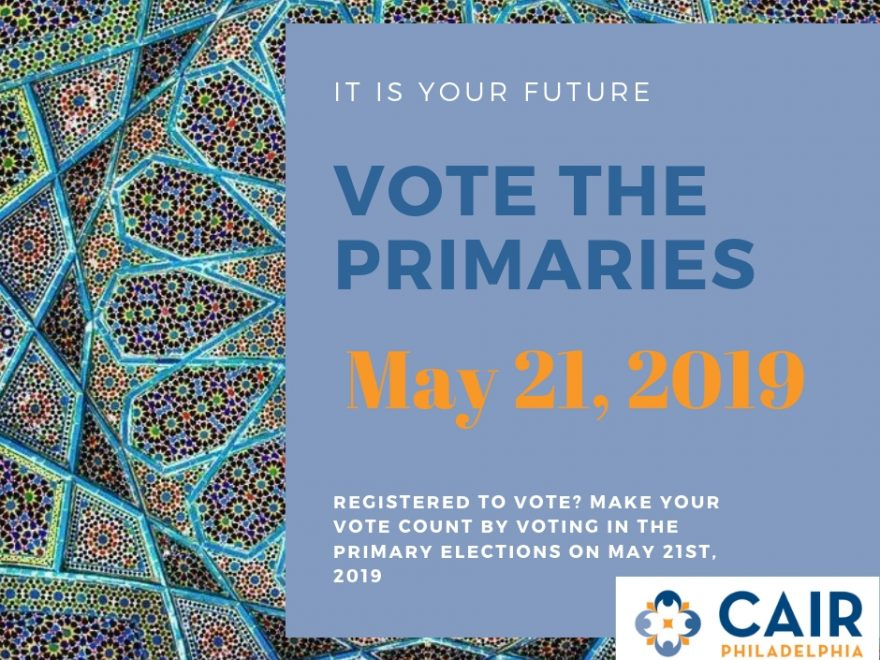 Vote the Primaries on May 21
