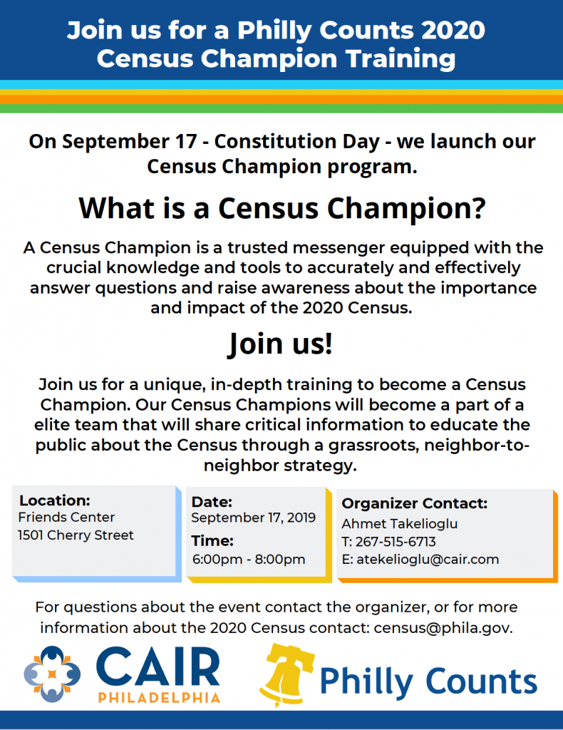 2020 Census Champion Flyer