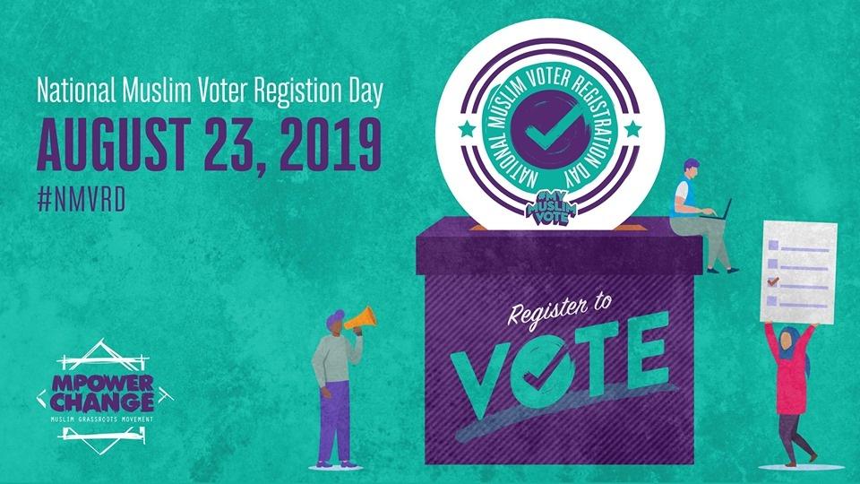 National Muslim Voter Registration Day Flyer