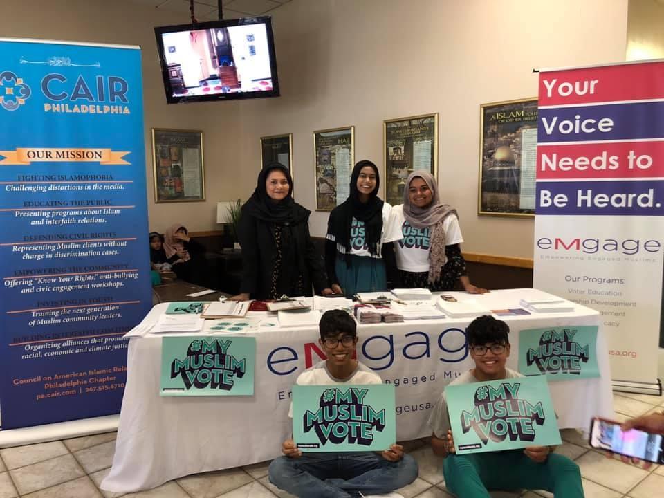 National Muslim Voter Registration Day Photo