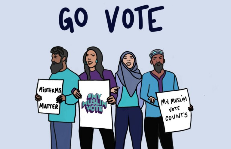 Go Vote Graphic