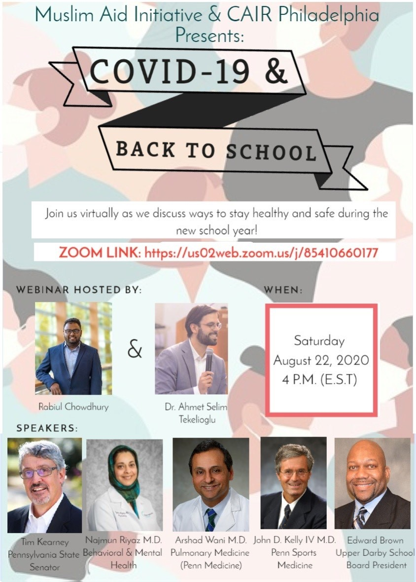 COVID-19 & Back to School Flyer