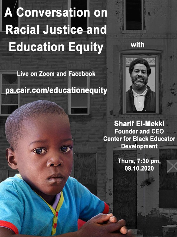 A Conversation with Sharif El-Mekki on Racial Justice and Education Equity