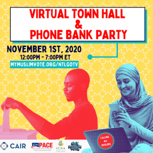National Muslim Voter Virtual Town Hall