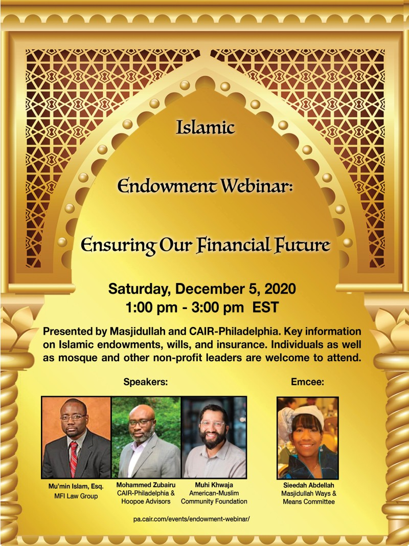Islamic Endowment Webinar