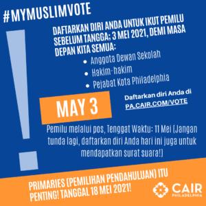 #MyMuslimVote Indonesian
