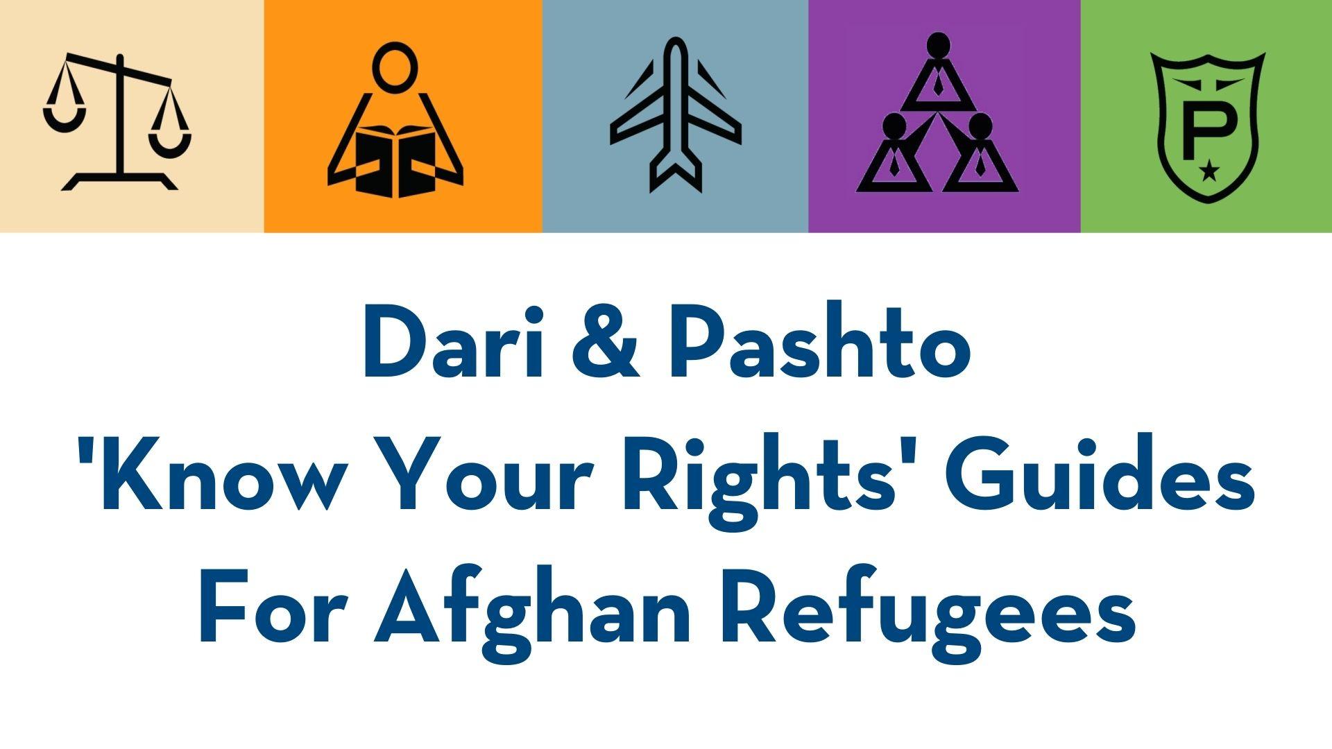Dari & Pashto KYR Guides